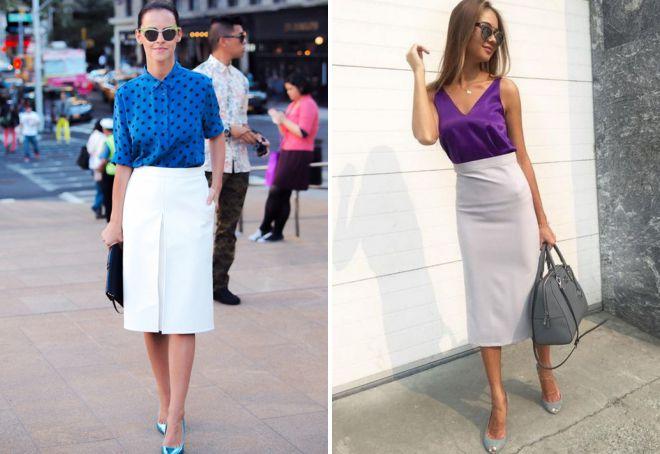 легкие юбки на лето