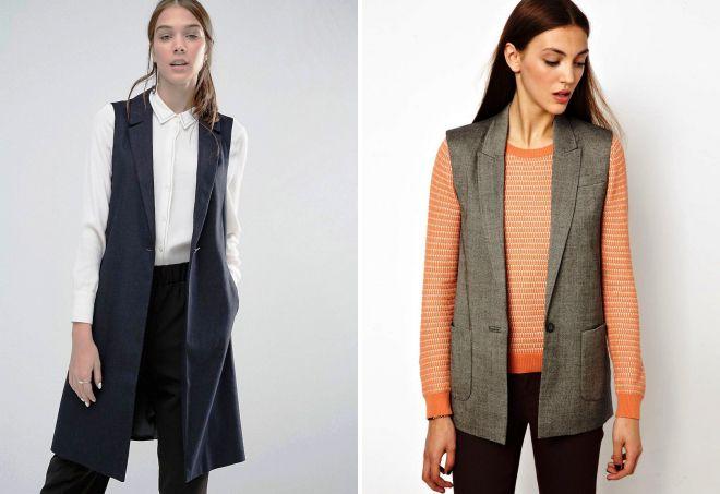 пиджаки без рукавов 2017