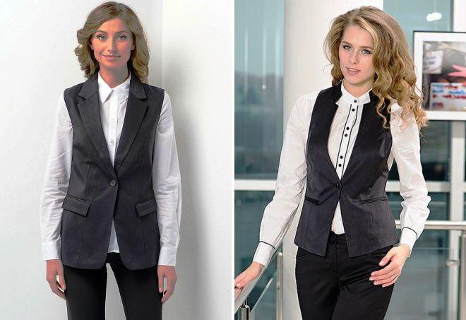 79e7f8bff29 Женский пиджак без рукавов 2017 – удлиненный