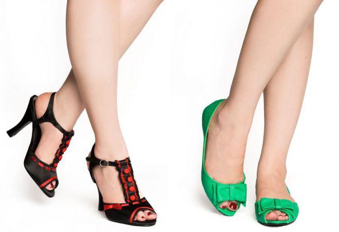 обувь в стиле стиляг