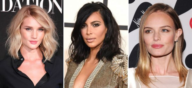 Rosie Huntington Whiteley, Kim Kardashian, Kate Bosworth aux cheveux courts