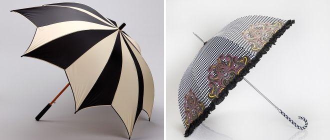 модный женский зонт