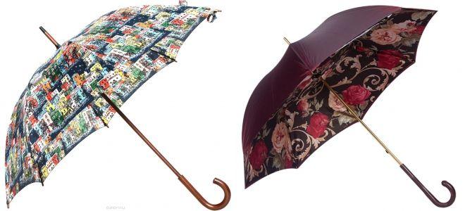 зонты с принтами