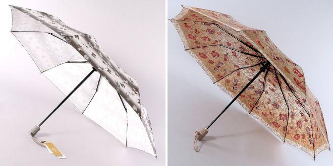женские зонты автоматы