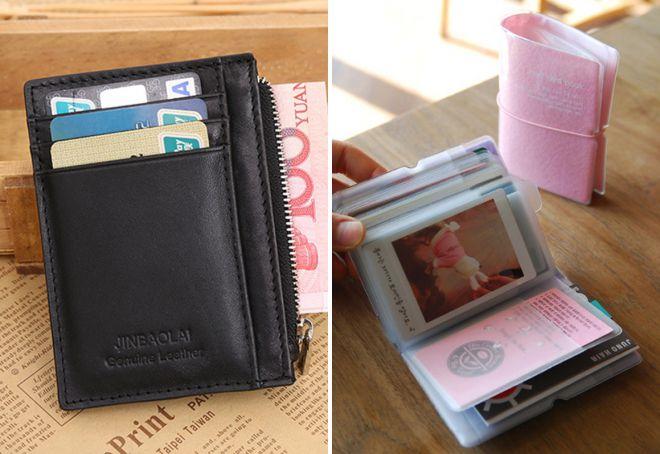 маленький кошелек для карточек