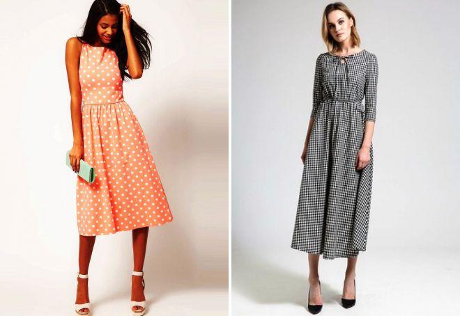 повседневные платья миди