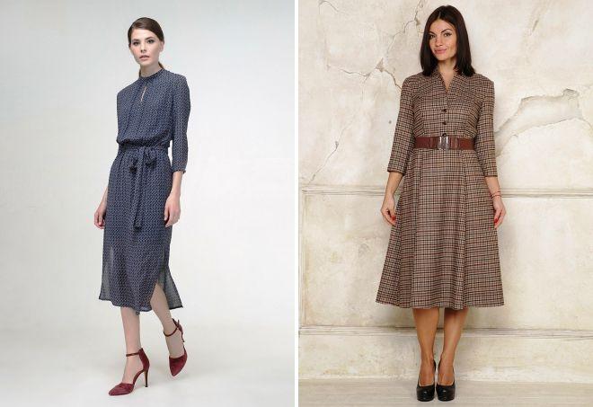 модные платья миди