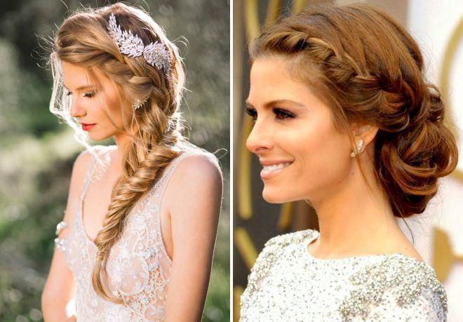 Модные свадебные прически в греческом стиле – коса, с пучком, диадемой, фатой, цветами