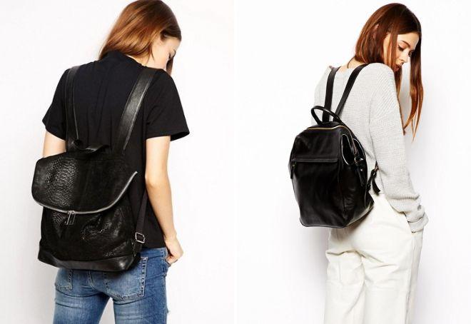 b2e638f22414 Модные женские рюкзаки – кожаные и джинсовые, городские молодежные и ...