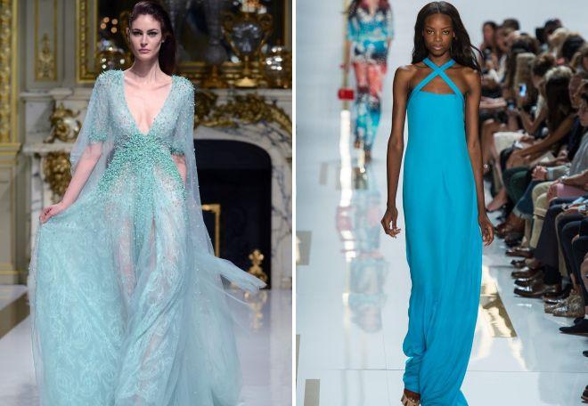 3cc77fbbbc3 Модное бирюзовое платье – красивое вечернее и повседневный сарафан ...