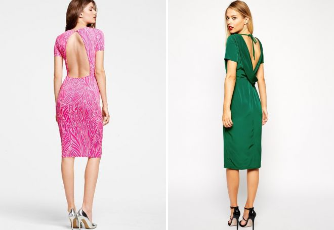 c39e82303ec613d Модное платье-футляр – классическое и вечернее, кружевное и с баской ...
