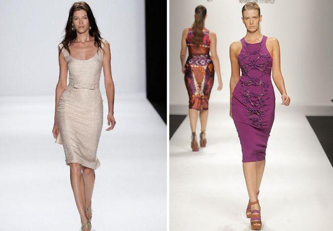 e6e3ca17600c567 Особого уважения заслуживает элегантный натуральный шелк. модные платья  футляры