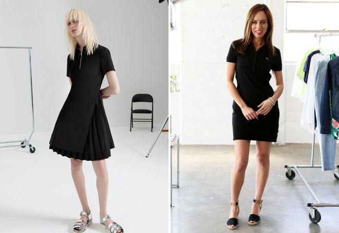 какую обувь носить с платьем поло