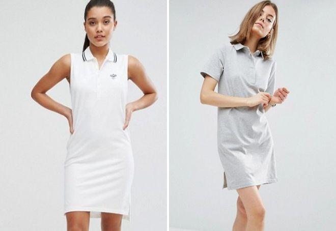 платье поло 2017