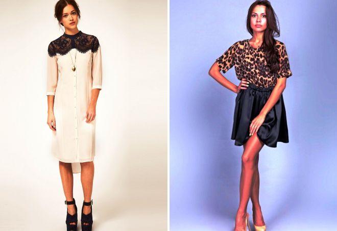 шелковые платья 2017