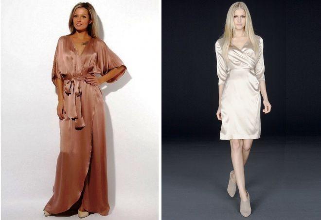 4c12228b89f Красивое шелковое платье – вечернее и летнее повседневное