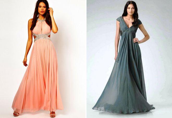 86e199fea8c Красивые шифоновые платья – длинные в пол и короткие