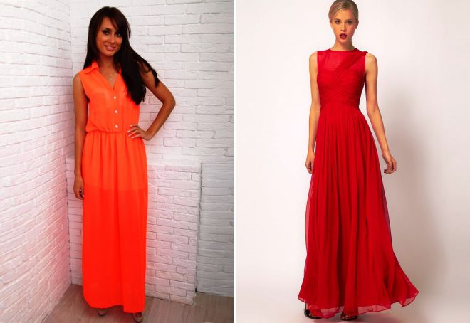 29fa1f0b4396 Красивые шифоновые платья – длинные в пол и короткие, вечерние и ...