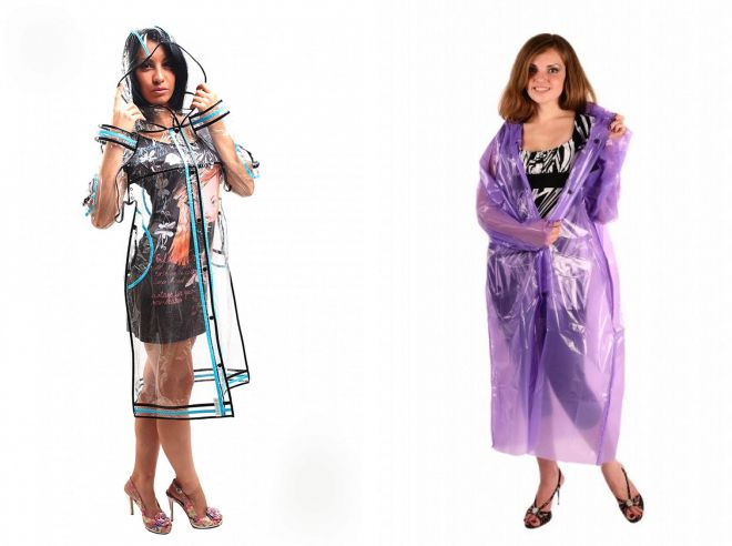 модные женские дождевики