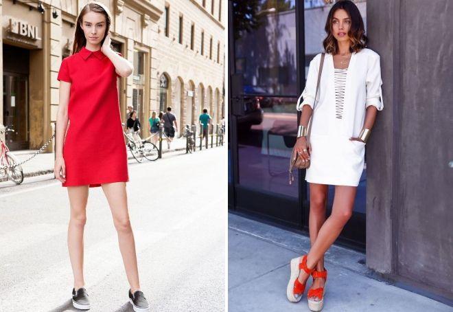 женские спортивные платья