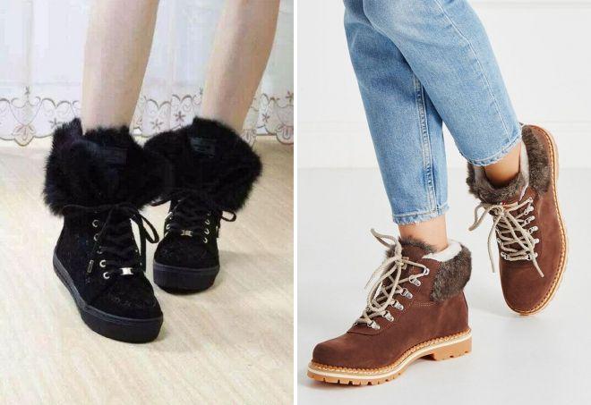 53305bd4f Модные женские зимние ботинки 2017-2018 – тенденции и тренды зимы 2018