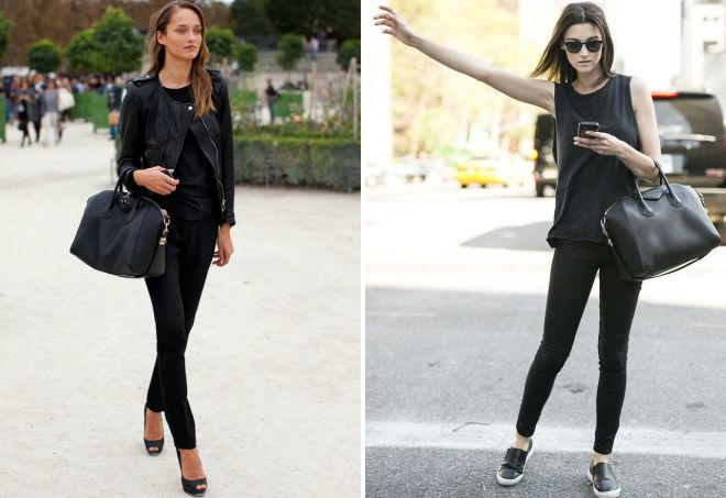 چه چیزی با کیسه های چرمی سیاه پوشانده می شود