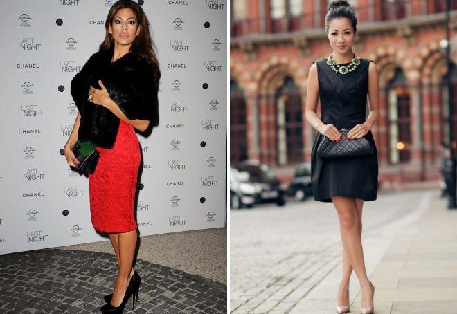 چرم کم کیف زنان سیاه و سفید