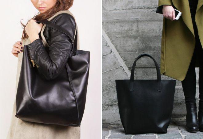 خریداران کیف چرم سیاه و سفید