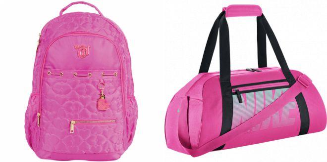 розовая спортивная сумка 2018