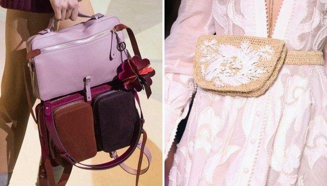 сумки розового цвета