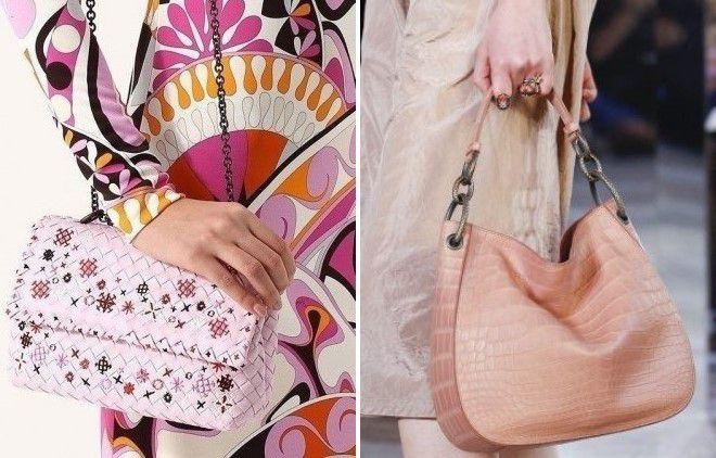 светло розовые сумки