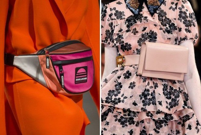 женские розовые сумки 2018
