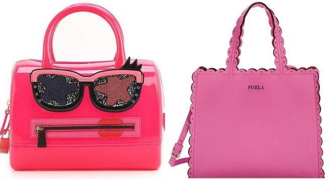 розовые сумки фурла