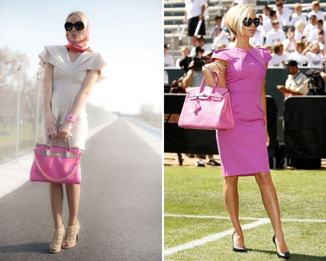с чем носить розовую сумку 2018