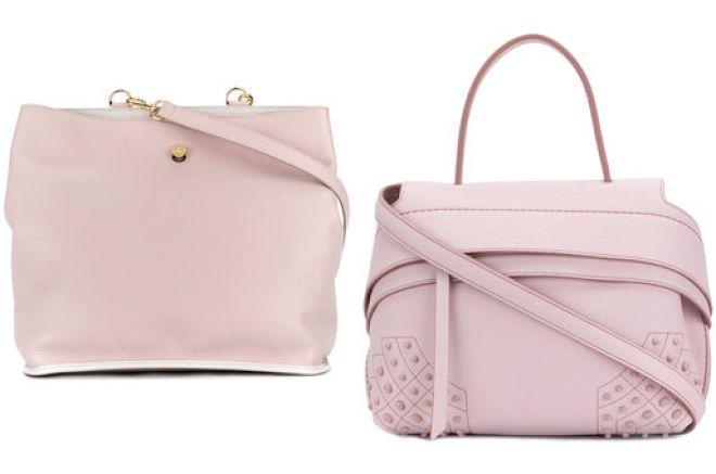 нежно розовая сумка 2018