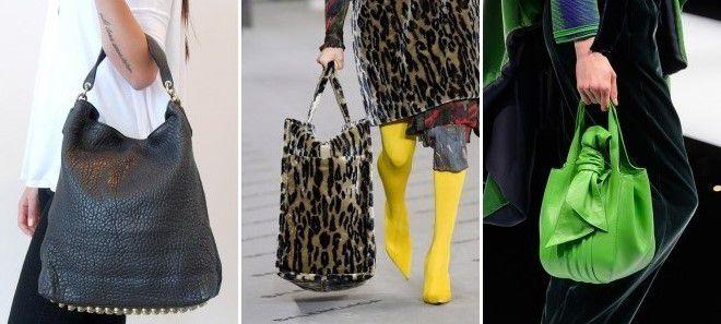 брендовые сумки хобо 2018