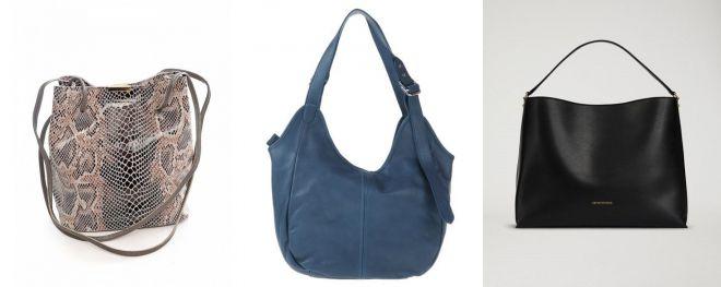 виды женских сумок хобо