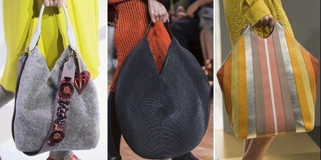 сумка в стиле хобо