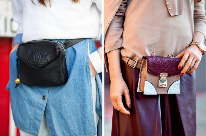 35a52d595709 Модная женская сумка на пояс – спортивная, молодежная, брендовая ...
