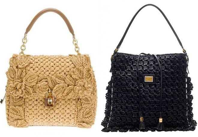 7b8ac9946f7d Модные женские вязаные сумки – из трикотажной пряжи, вышитые ...