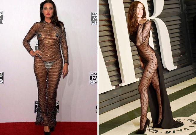 что такое голое платье