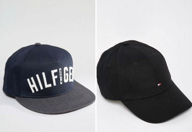 черная кепка томми хилфигер