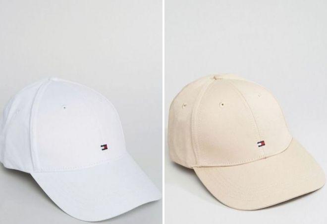 белая кепка tommy hilfiger