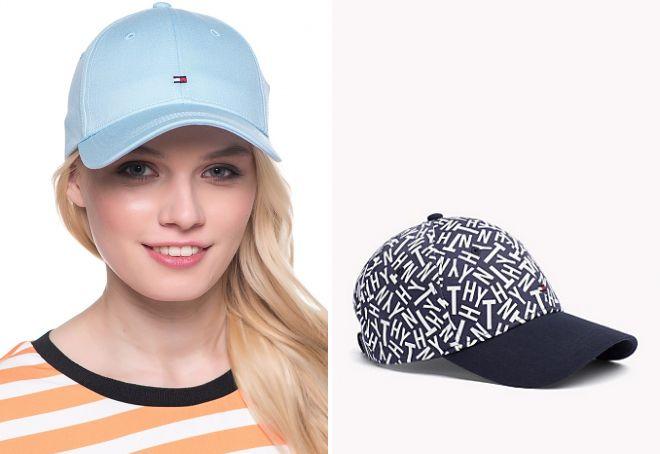 женские кепки томми хилфигер