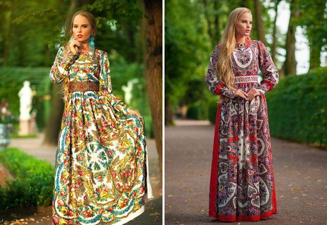 модные платья из штапеля 2017