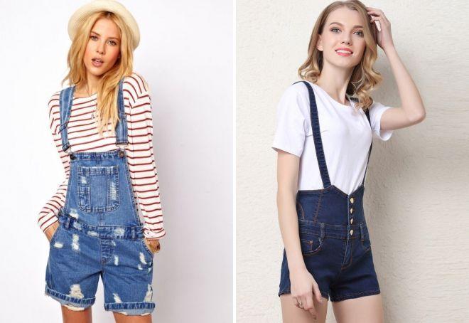 короткие джинсовые шорты 2017