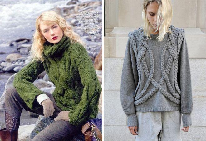 05014419 Braid genser - de mest fasjonable og uvanlige modellene