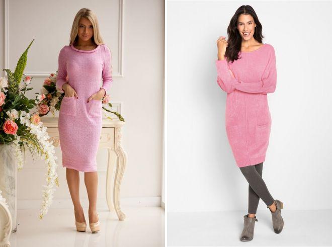 85b5c07d54b85dc Стильное розовое платье – короткое, длинное, миди, вечернее ...