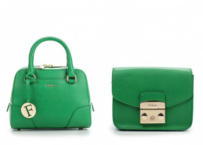 зеленая сумка фурла