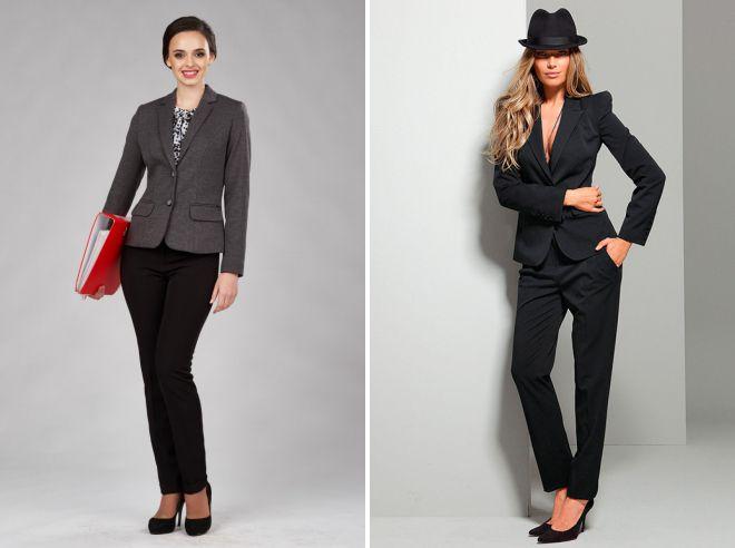 модные деловые костюмы для женщин